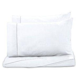 Juego de Sábanas Polyblanc Plus 40cm Algodón Blanco