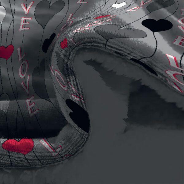 cobertor terlet corazones