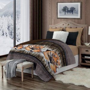 Cobertor Terlet Soft Winter Tigre