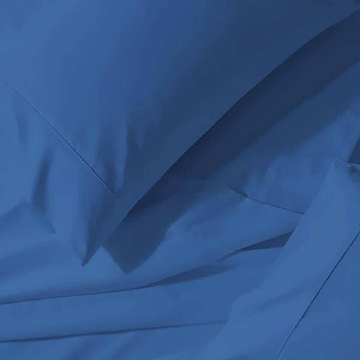 Juego de Sábanas Polyblanc Azul Bleach